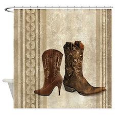Cowboy Shower Curtains Cowboy Fabric Shower Curtain Liner