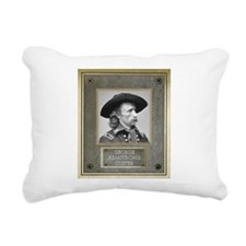 George Armstrong Custer Rectangular Canvas Pillow