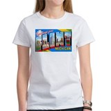 Flint Michigan Greetings (Front)  T