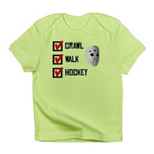 Crawl Walk Hockey Infant T-Shirt