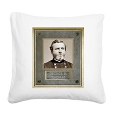 George H. Thomas Square Canvas Pillow
