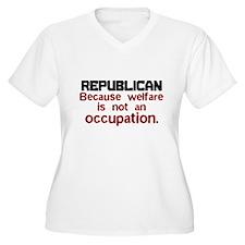 Republican Plus Size T-Shirt