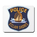 St Clair Shores Police Mousepad