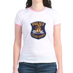 St Clair Shores Police Jr. Ringer T-Shirt