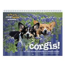 Corgis! 2 Wall Calendar