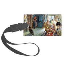 Carl Larsson - Peasant Interior  Luggage Tag