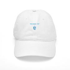 Custom Blue Dradle Baseball Cap