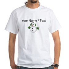 Custom Christmas Snowman T-Shirt