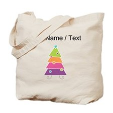 Custom Cartoon Christmas Tree Tote Bag