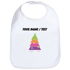 Custom Cartoon Christmas Tree Bib