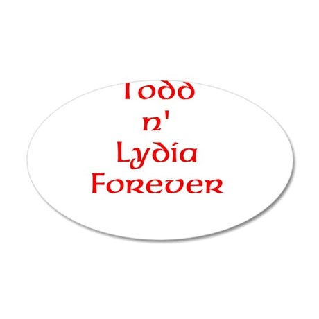 Todd and Ldyia Wall Decal