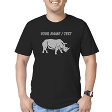Custom Grey Rhino T-Shirt
