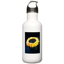 Sunflower cupcake Water Bottle