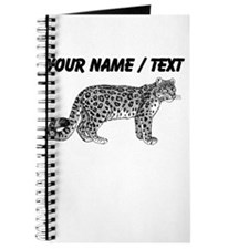 Custom Leopard Sketch Journal