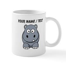 Custom Cartoon Hippo Mugs