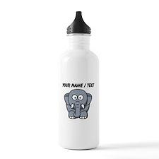 Custom Baby Elephant Water Bottle
