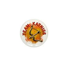 Team Katniss Catching Fire Mini Button (100 pack)