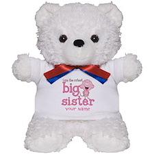 Monkey Big Sister Personalized Teddy Bear