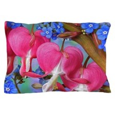 Bleeding Heart Flowers Pillow Case