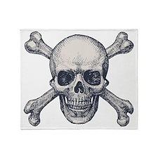 Skull & Bones Throw Blanket