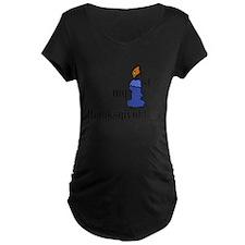 my first thanksgivvukah Maternity T-Shirt