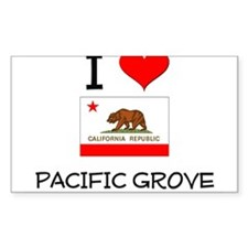 I Love Pacific Grove California Decal