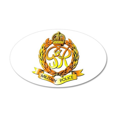 Royal Military Police - UK 20x12 Oval Wall Decal