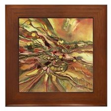 Landscape of the Soul Framed Tile