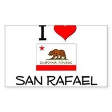 I Love San Rafael California Decal
