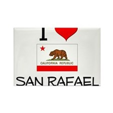 I Love San Rafael California Magnets