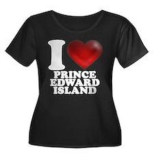 I Heart Prince Edward Island Plus Size T-Shirt