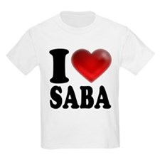 I Heart Saba T-Shirt