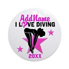 DIVING STAR Ornament (Round)
