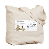 I wear my hearing aids every day tote Bag