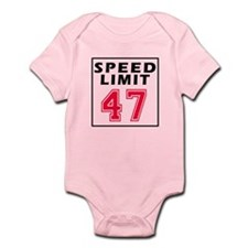 Speed Limit 47 Infant Bodysuit