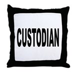 Custodian Throw Pillow