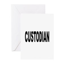 Custodian Greeting Cards (Pk of 10)