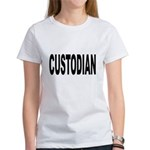 Custodian (Front) Women's T-Shirt