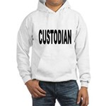 Custodian (Front) Hooded Sweatshirt