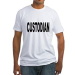 Custodian (Front) Fitted T-Shirt