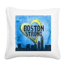 Boston Strong Square Canvas Pillow