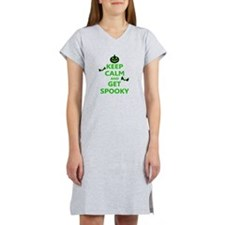 Keep Calm and Get Spooky Women's Nightshirt