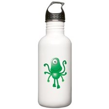 Cute Six armed ALIEN Sports Water Bottle