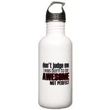 Awesome, Not Perfect Sports Water Bottle