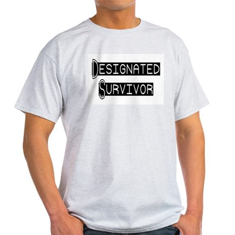 Designated Survivor Ash Grey T-Shirt