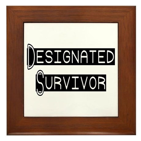 Designated Survivor Framed Tile