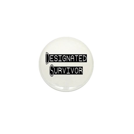 Designated Survivor Mini Button (100 pack)