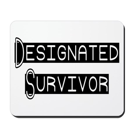 Designated Survivor Mousepad