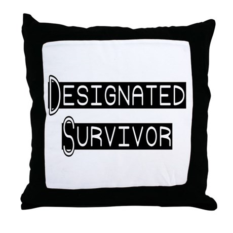 Designated Survivor Throw Pillow