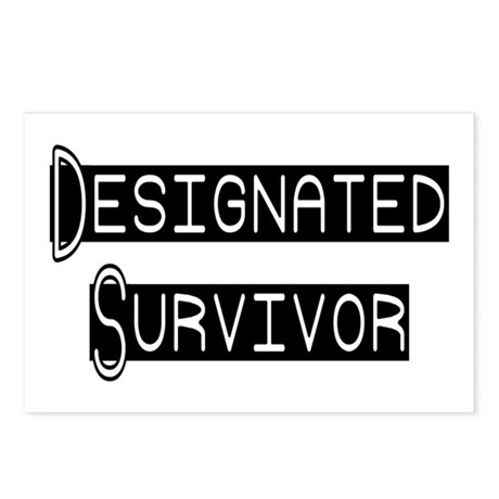 Designated Survivor Postcards (Package of 8)